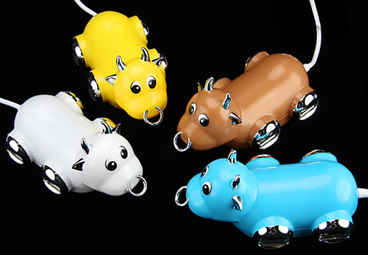 Concentrateur vache USB