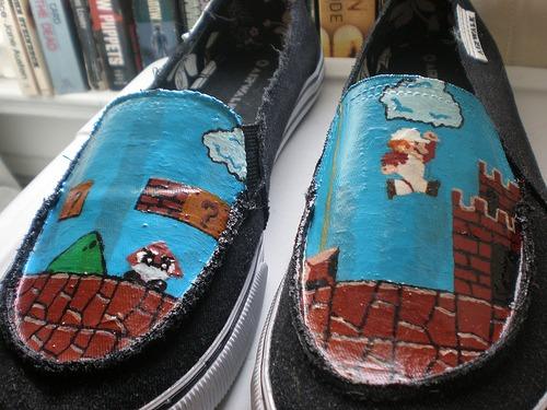 Souliers Mario Bros