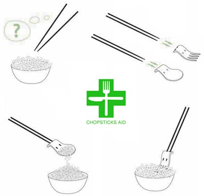Chop sticks Aid