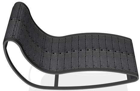 Text-ile : la chaise clavier
