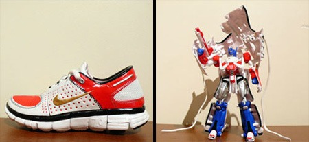 souliers Nike Transformers