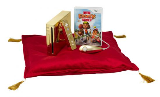 Wii en or
