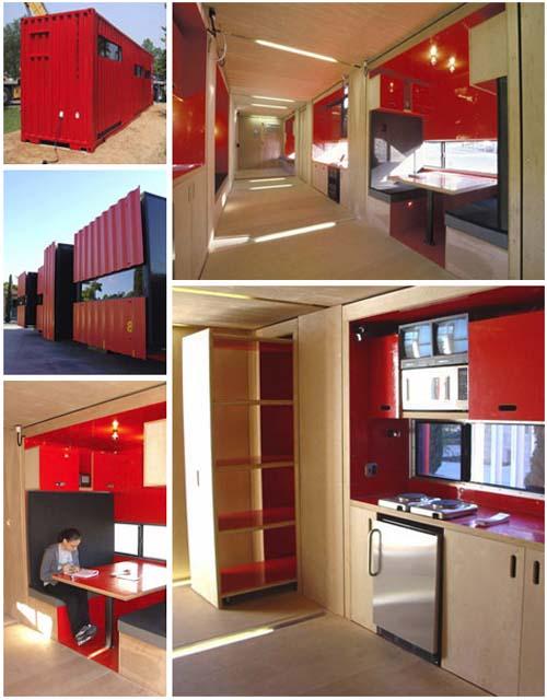 Ma maison ... un container de 40 pieds | Maison container