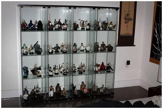Une méga collection de figurines Star Wars