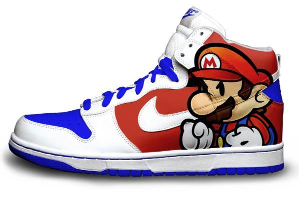 Super Mario Bros Nike