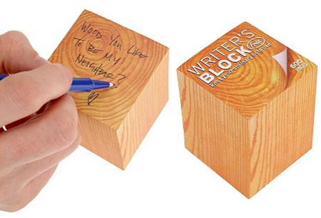 Wood Sticky-Notes
