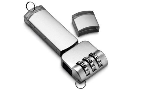 Un cadenas à clé USB