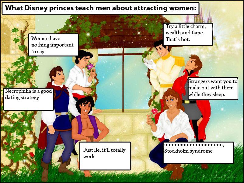 Ce que les princes de Disney nous enseignent.