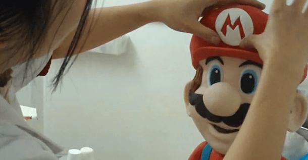 Gateau Mario Bros en confection