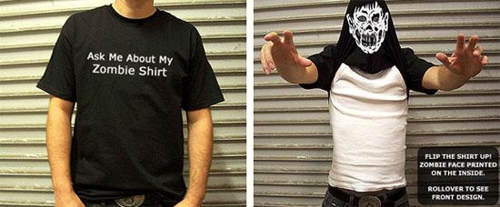 Un Tshirt pour vous transformer en zombie