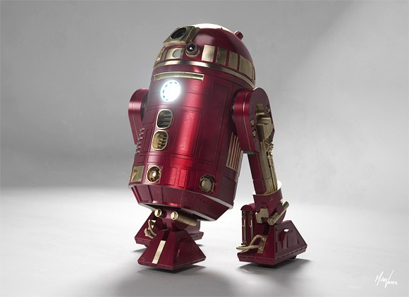 R2D2 version Iron Man