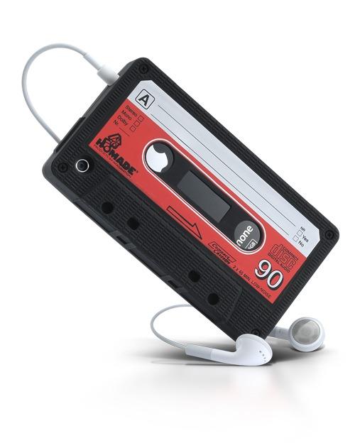 étui cassette pour iPhone