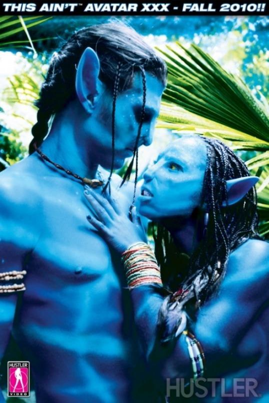 Couverture du DVD Porno d'Avatar de Hustler