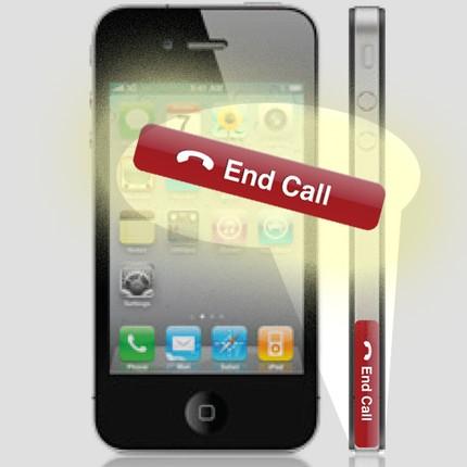 Nouveau bouton End Call pour iPhone 4
