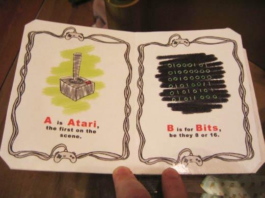 Apprendre l'alphabet avec les jeux vidéo