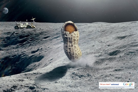 Astronut | Publicité imprimée de Google en Turquie