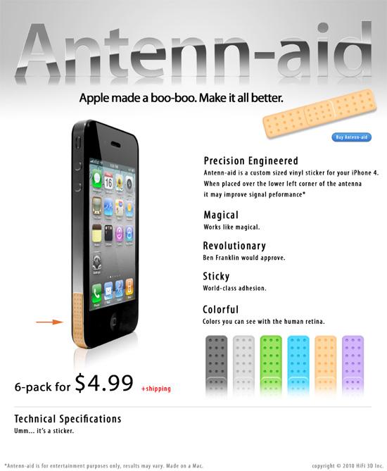 Guérissez votre iPhone 4 avec le Antenn-Aid