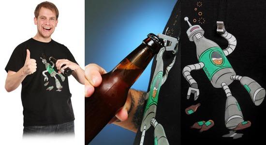 Image du T-shirt Beerbot