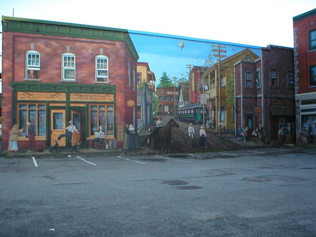 Murale Bowen King E à Sherbrooke