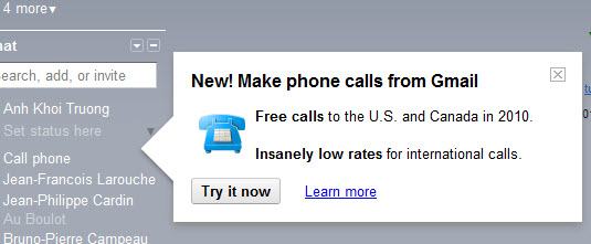 gmail voice