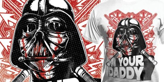 T-shirt Darth Vader:I'm you Daddy