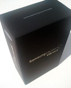 Samsung, Galaxy S, Vibrant, Box