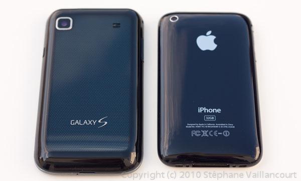 Samsung, Galaxy S, Vibrant, iPhone
