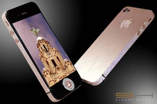 Un iPhone 4 pour 5 millions de livres sterling