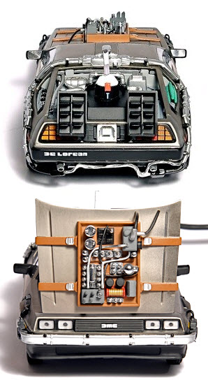Une DeLorean propulsée par 500gb