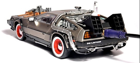 Une DeLorean propulsée par 500gb