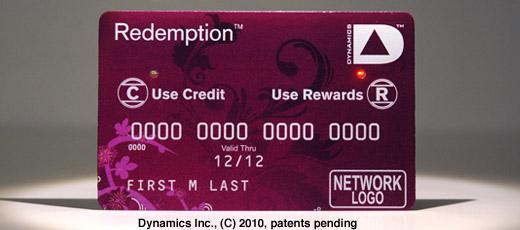 La carte de crédit 2.0 de Dynamics Inc.