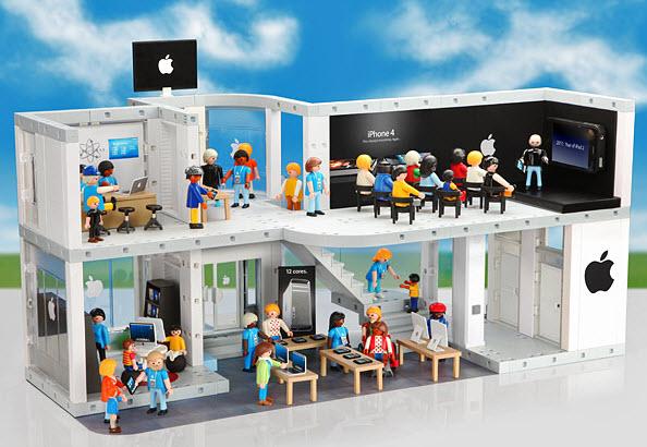 Playmobil iStore - Playmobil version Apple Store