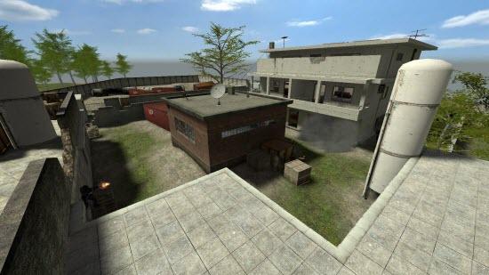 Nouvelle carte de Counter-Strike: la cachette de Bin Laden