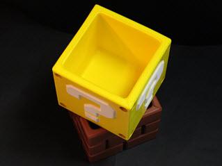 Boîtes de rangement à la Mario Bros