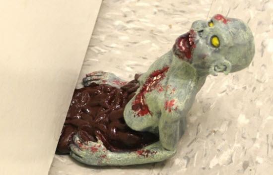 bloque porte zombie