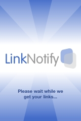 LinkNotify iphone App