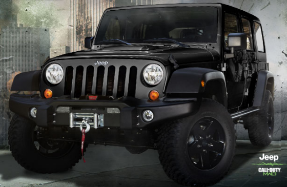 Jeep Wangler 2012 Call of Duty Edition