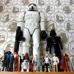 Le papier peint de l'Armée Impériale Star Wars
