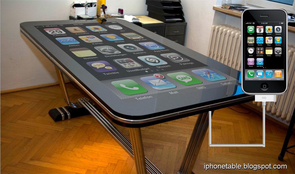 iPhone Table Connect, un iPhone géant!