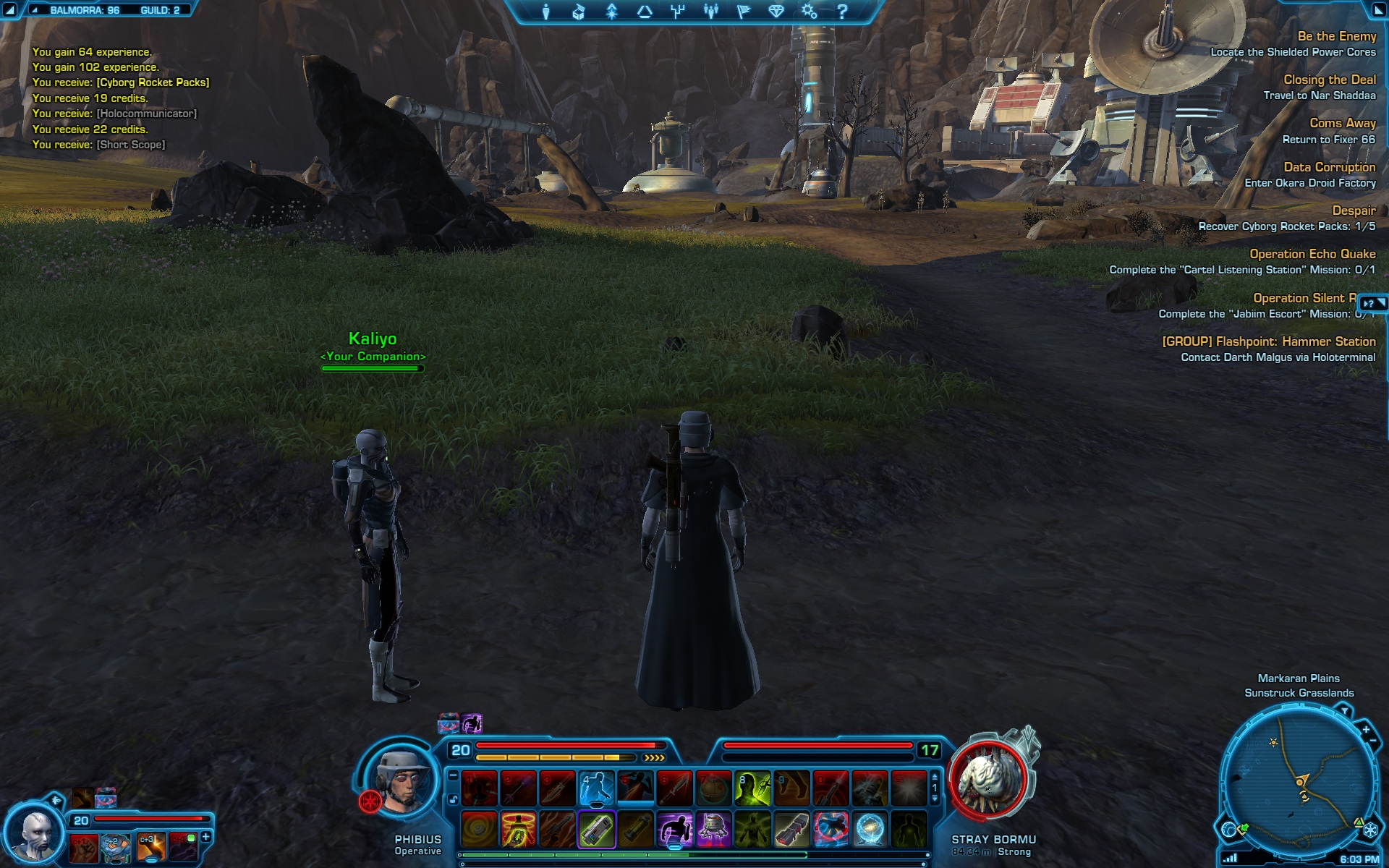 Star Wars: The Old Republic - Journal de bord 2