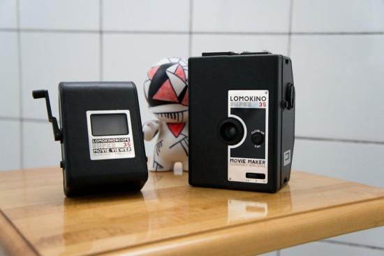 Le LomoKino et son frère d'étable, le Lomokinoscope