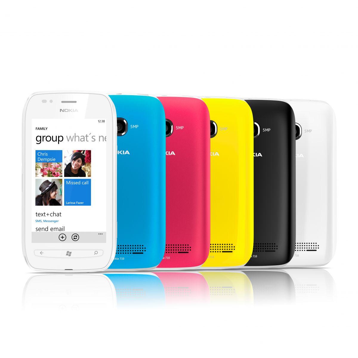 Nokia Lumia 710: tout en couleurs