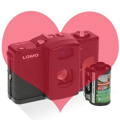 Lomo LC-A dans mon coeur