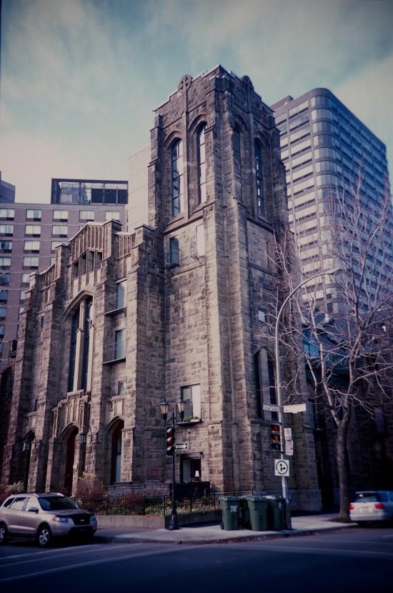 Lomo LC-A - Un matin à Montréal