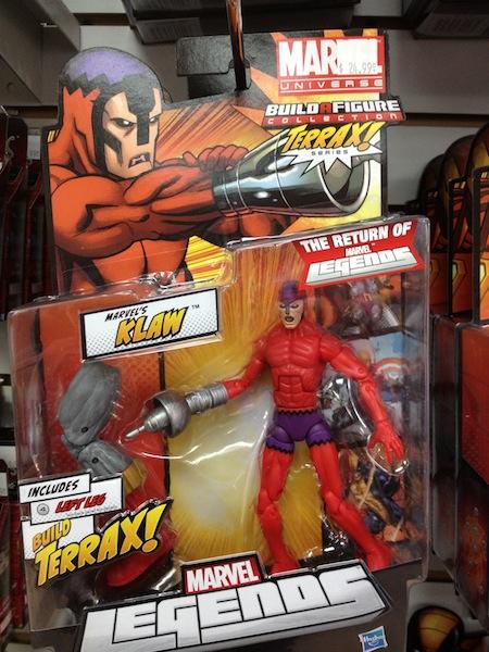 Les nouveautés de chez Legends Figurines d'Action (Le magasin est fermé.)
