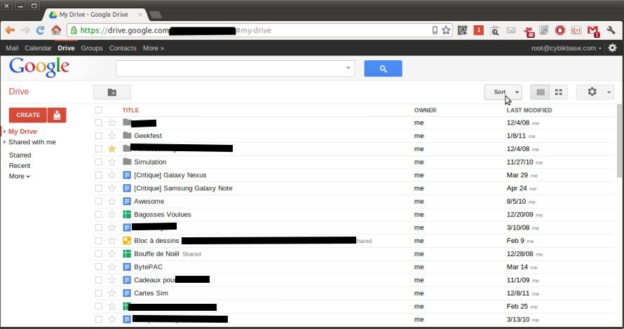 Google relance sa suite bureautique: Bienvenue sur Google Drive