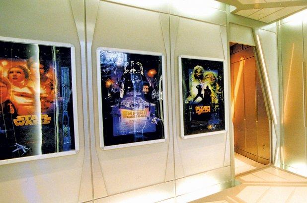 Une salle de ciné maison pour Jedis