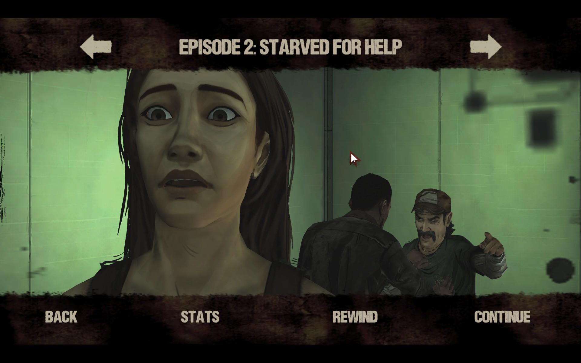 C'est le moment de discuter de Walking Dead Épisode 2!