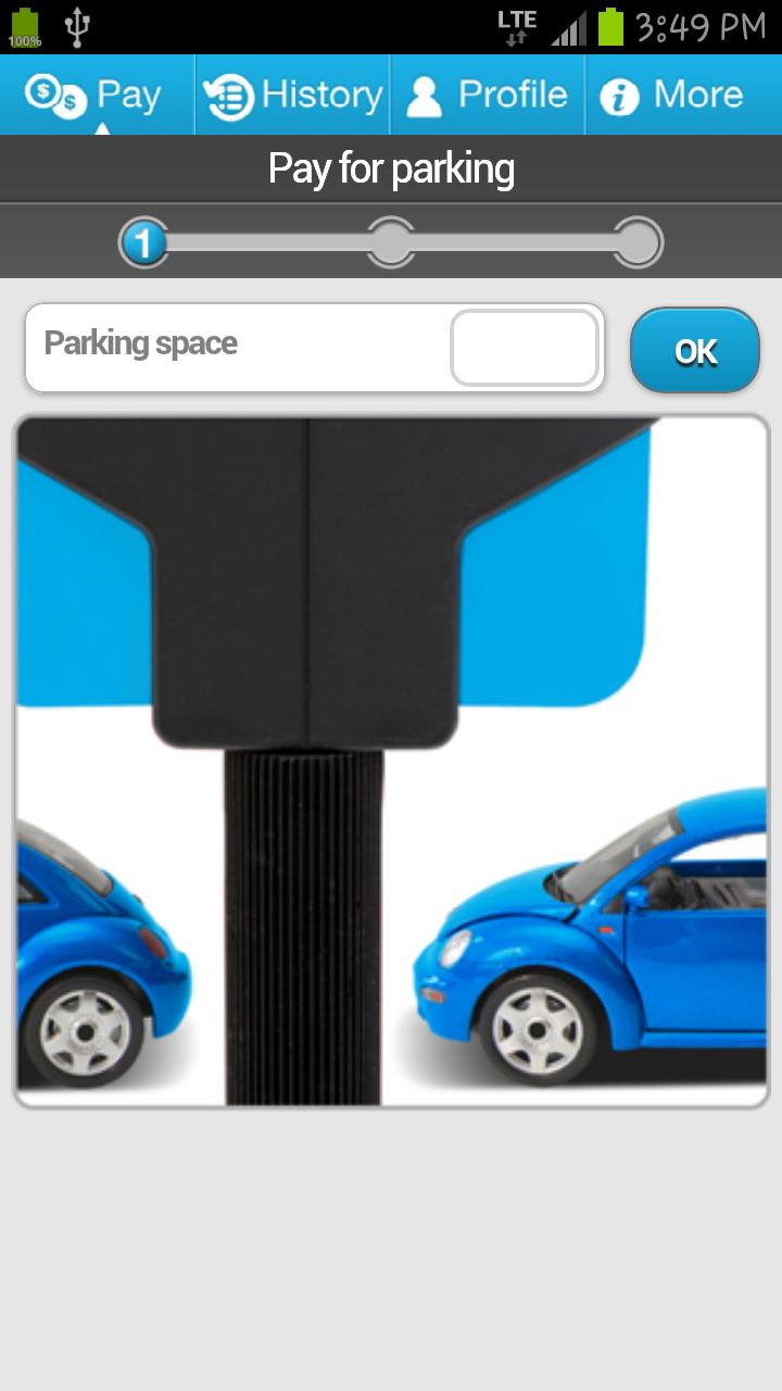 Payer son stationnement avec son téléphone mobile