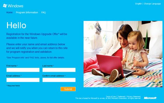 Mise à jour à Windows 8 Pro pour seulement 39$